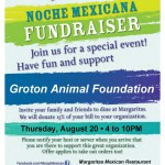 Margaritas Noche Poster - Groton Animal Foundation