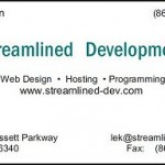streamlined-dev