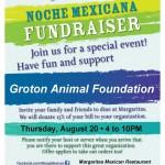 Margaritas Noche Poster - Groton Animal Foundation